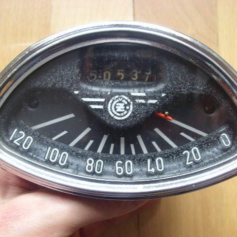 Tachometer do ČZ175/450 model 05 De Luxe.